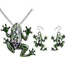 colgantes de ranas