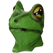 máscara de rana