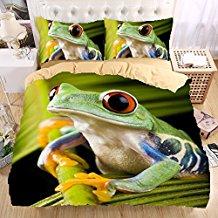 ropa de cama de ranas