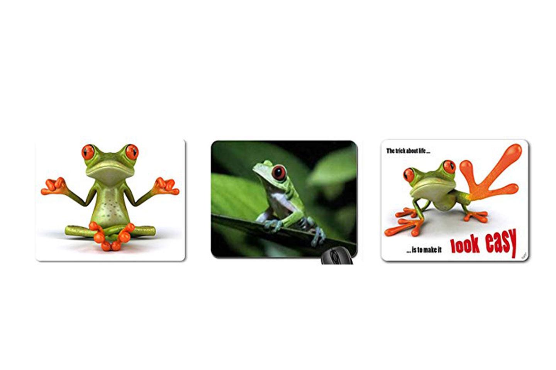 alfombrillas de ranas