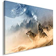 cuadro de lobos