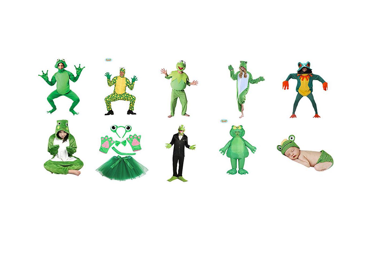 disfraces de ranas