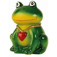 hucha de rana verde