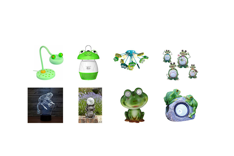 lámparas de ranas