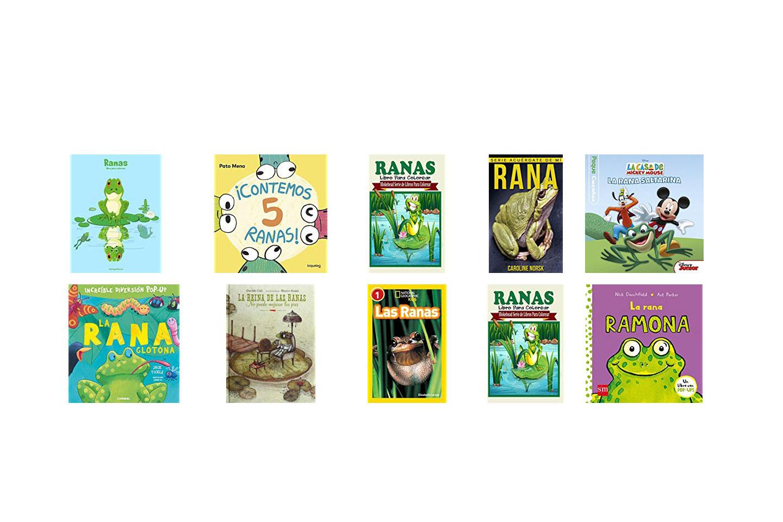 Libros de ranas