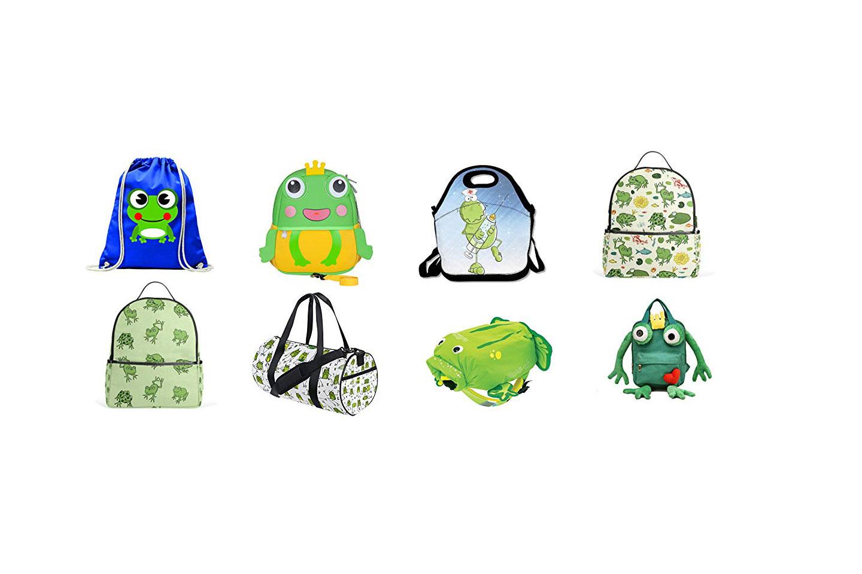 mochilas con ranas