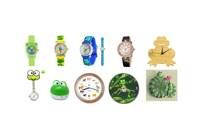 Relojes de ranas
