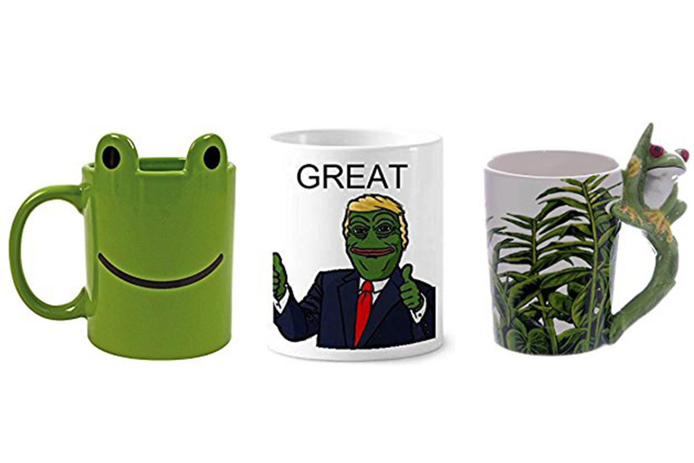 tazas de ranas