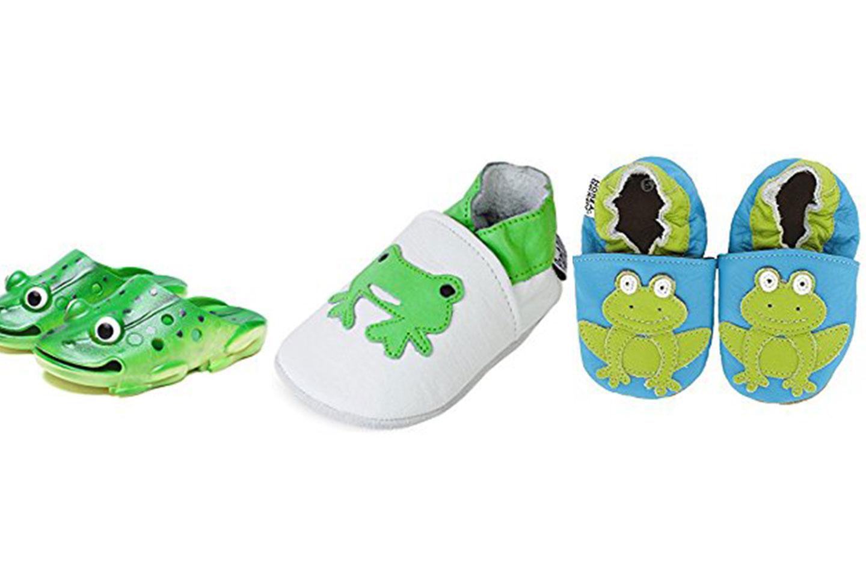 zapatillas de ranas