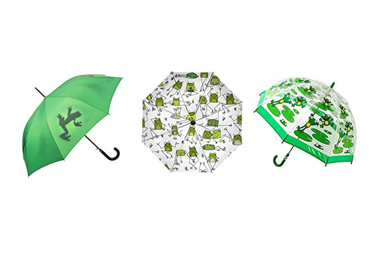 Paraguas de ranas