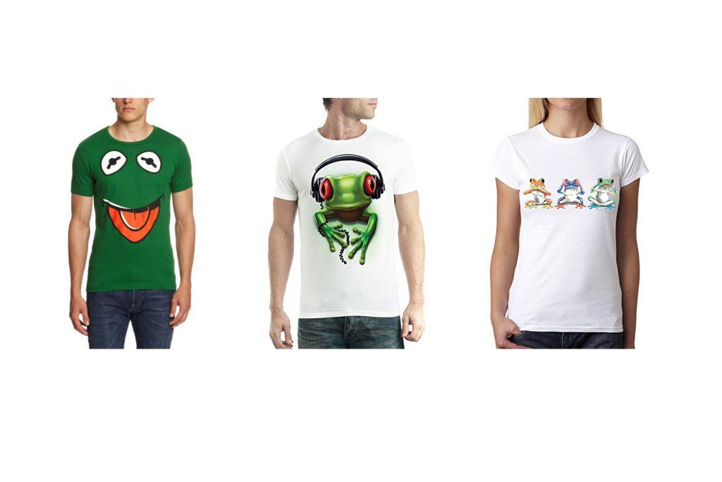 camisetas con ranas